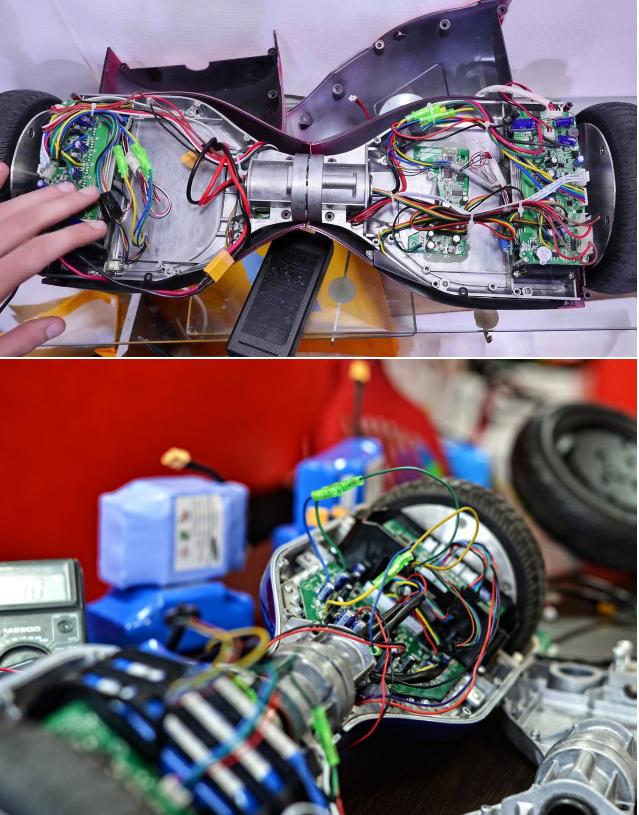 фото после ремонта гироскутера