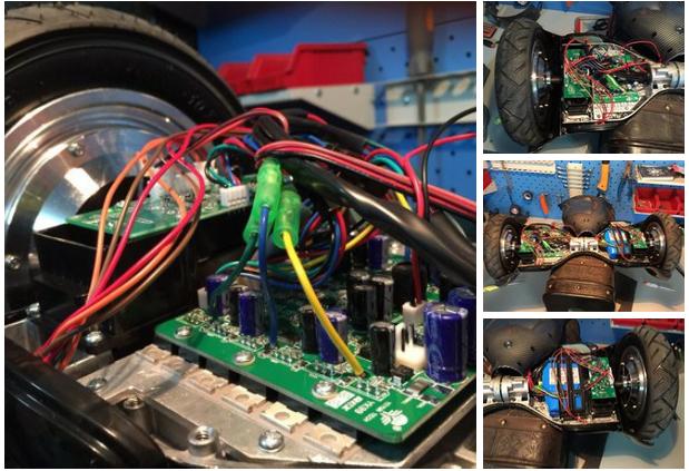 до ремонта гироскутера