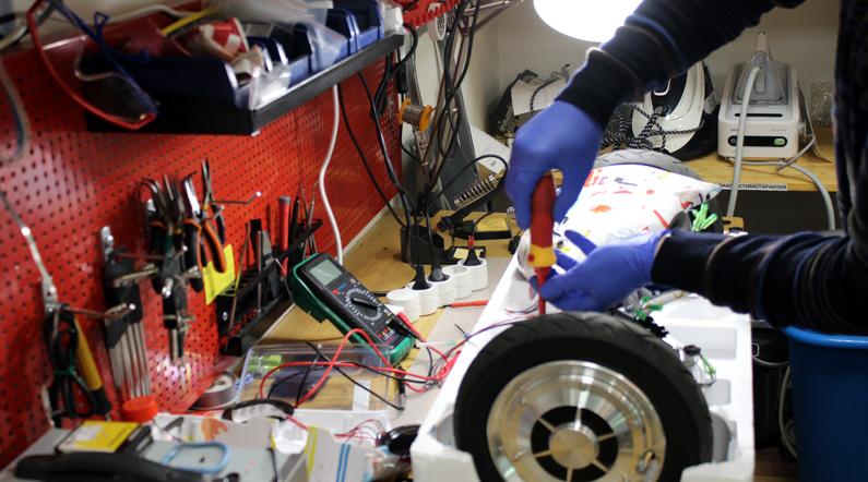 сервис по ремонту гироскутеров